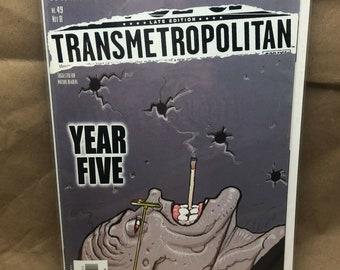 Transmetropolitan - DC Comic Vertigo - Warren Ellis - Issue 49 - Bagged/Boarded