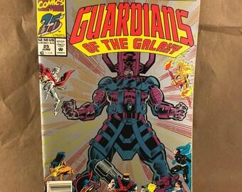 Guardians of the Galaxy #25 Galactus Vintage Marvel Comics