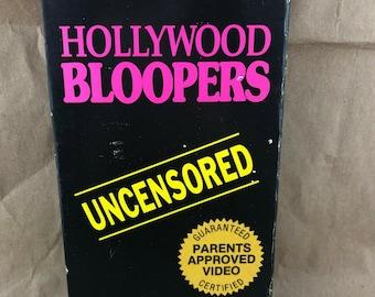 Hollywood Bloopers -VHS- OOP