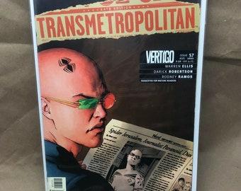 Transmetropolitan - DC Comic Vertigo - Warren Ellis - Issue 57 - Bagged/Boarded
