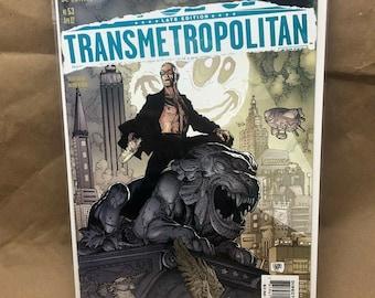 Transmetropolitan - DC Comic Vertigo - Warren Ellis - Issue 53 - Bagged/Boarded