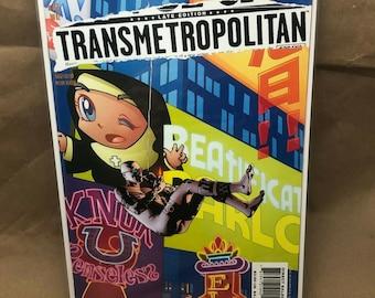 Transmetropolitan - DC Comic Vertigo - Warren Ellis - Issue 55 - Bagged/Boarded