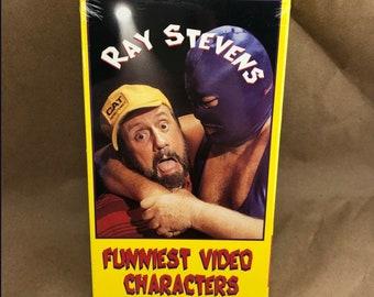 Funniest Video Characters: Ray Stevens -VHS- OOP Sealed
