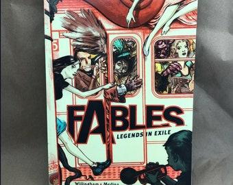 Fables - Trade Paperbacks - TBP - Legends in Exile