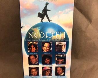 North Carl Reiner Elijah Wood Bruce Willis John Ritter -VHS- OOP
