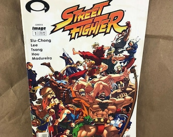 Street Fighter #1 2003 Image Comics Cover B