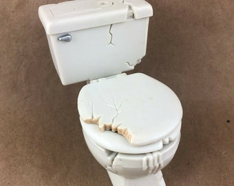 WWE Toilet Toy Accessory Action Figure
