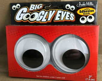 Archie McPhee Big Googly Eyes -For the Home or Office or Home Office-