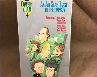 An All-Star Toast to the Improv Robin Williams Billy Crystal HBO -VHS- OOP