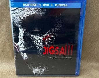 Jigsaw on Blu Ray