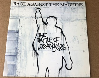 Rage Against the Machine Battle of Los Angeles -CD Booklet-