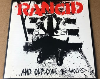Rancid ...And Out Come The Wolves -CD Booklet-
