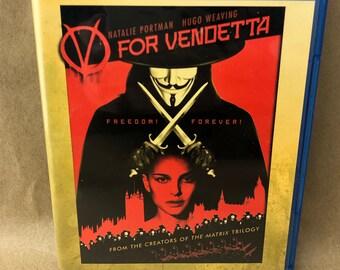 V For Vendetta on Blu Ray