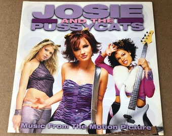 Josie and The Pussycats Movie Soundtrack -CD Booklet-