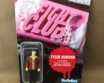 ReAction Tyler Durden Carded -Fight Club- New Sealed