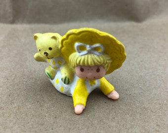 Butter Cookie and Jelly Bear -Strawberry Shortcake Vintage PVC Toy-