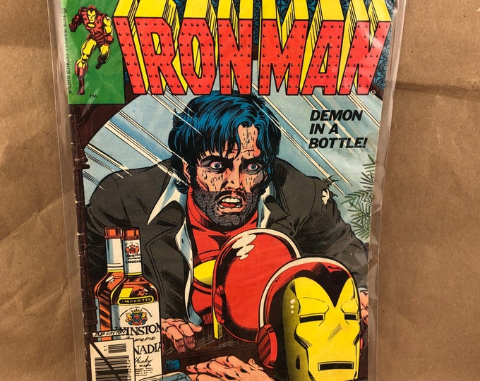Featured listing image: The Invincible Iron Man #128 -Marvel Comics- Demon in a Bottle