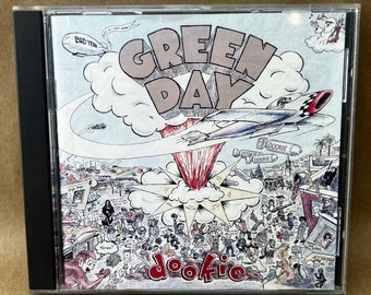 Green Day Insomniac -CD Booklet-