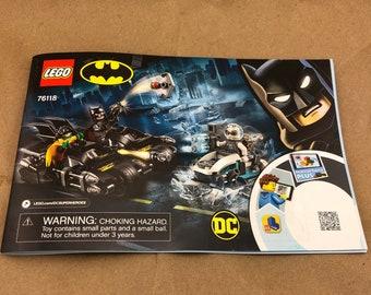 LEGO Batman Manual -76118-