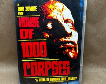 House of 1000 Corpses -DVD- Rob Zombie