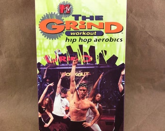The Grind VHS Case and Tae Bo Tape-VHS- OOP