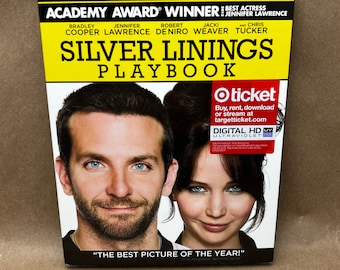 Silver Linings Playbook on Blu Ray