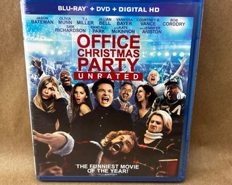 Office Christmas Party on Blu Ray