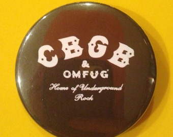 C.B.G.B. 2.25 Inch Button or Bottle Opener