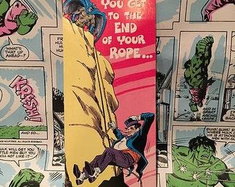 Vintage Batman Help! Greeting Card