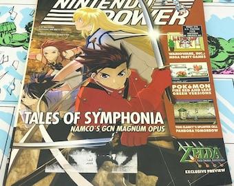 Nintendo Power Vol 180 w/ Poster -Zelda Pokemon Namco Warioware Magnum Opus-