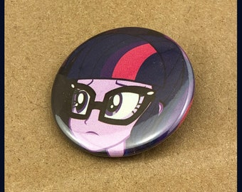 """1 of a kind 1.5"""" My Little Pony Comic Book Button"""