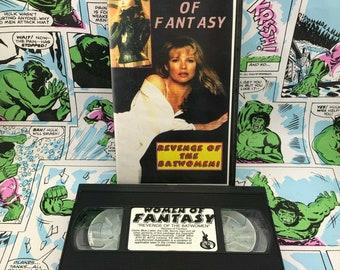 Naked Eye Presents: Women of Fantasy - Batman Batgirl Pfeiffer Basinger Newmar -VHS- OOP RARE Bootleg