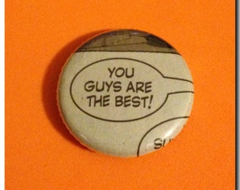 Comic Buttons