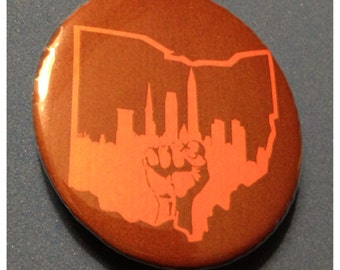 Cleveland Ohio 2.25 Inch Bottle Opener or Button
