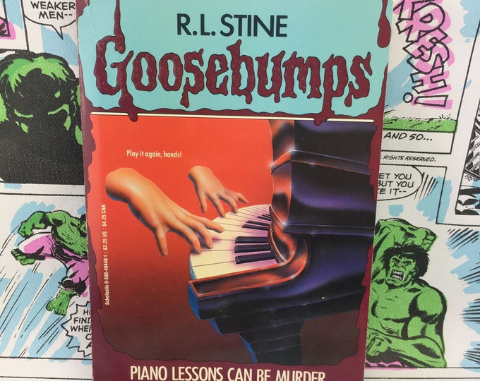 Featured listing image: Goosebumps #13 - Piano Lesson Can Be Murder - R.L. Stine - Young Adults