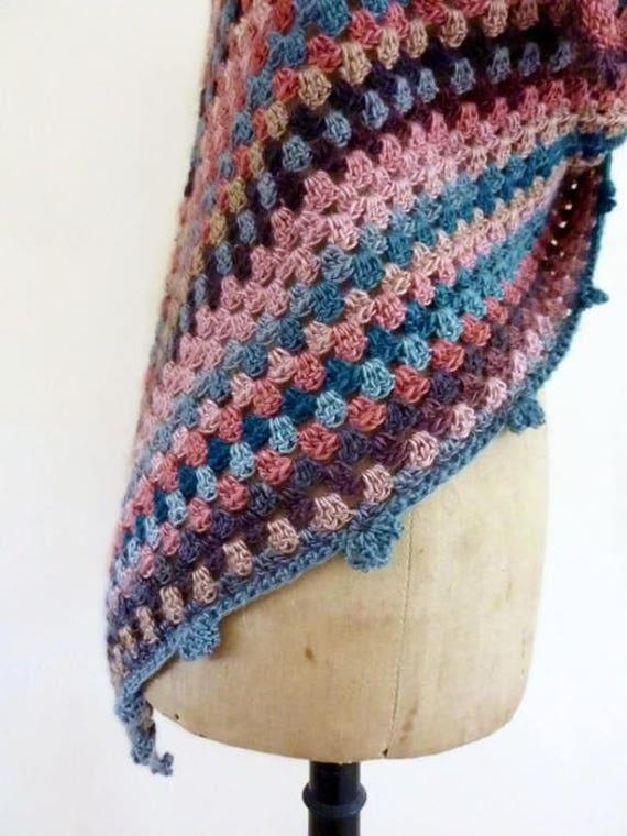 Häkeln Sie Dreieck Schal häkeln Schal Dreieck Schal häkeln | Etsy