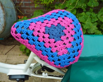 Crochet bicycle seat cover bike seat cover bike saddle cosy crochet bike seat cover bike saddle cover