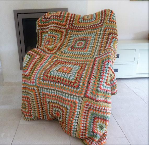 Oma Quadrate Decke häkeln Decke Oma Platz afghanische häkeln