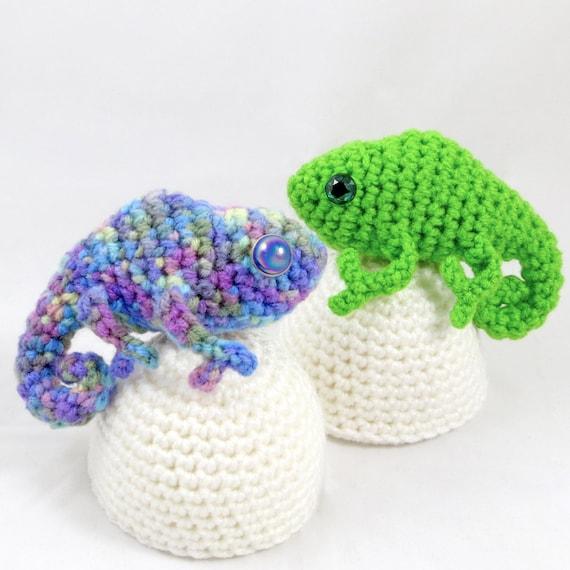 Crochet Pattern Amigurumi Egg Babies Baby Chameleon And Egg Etsy