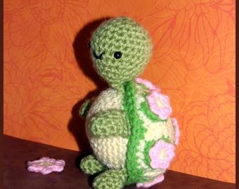 Crochet Pattern: Amigurumi, Lily Turtle
