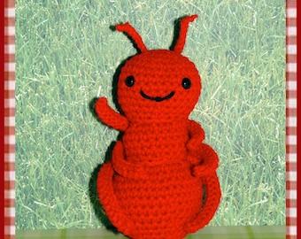 Crochet Pattern: Amigurumi, Picnic Ant and BONUS FREE Buzzle Bee Pattern