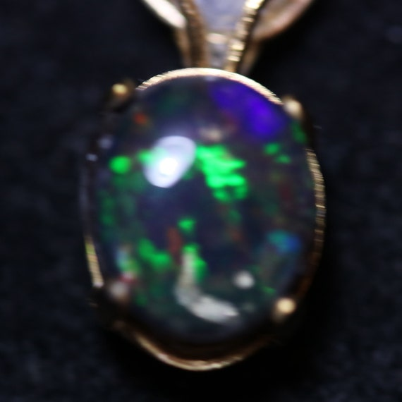 """Moonstone and Opal triplet pendant, gold bezel and wire wrap """"Pretty Baby"""", 28ct"""