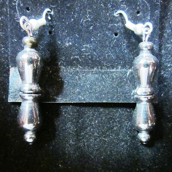 Earrings Jen 20 silver beads, sterling silver