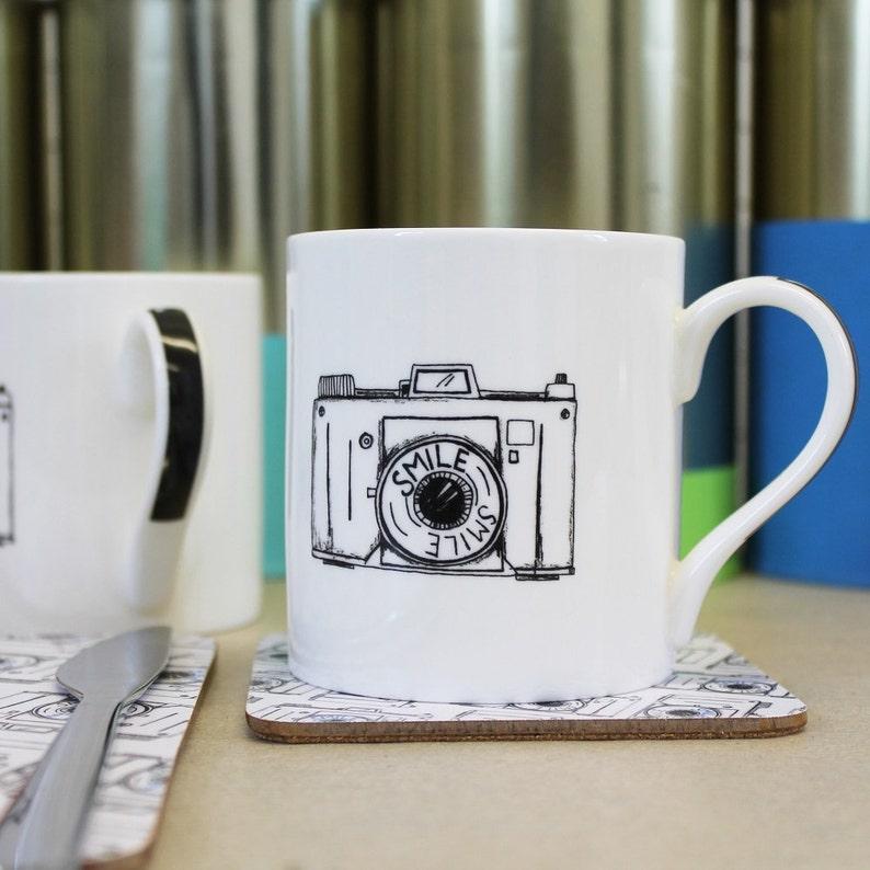 Camera Mug For Photographers New Job Or Motivational Gift