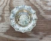 Old Glass Doorknob - Single