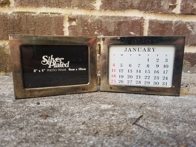 Vintage Double Photo Frame NewOld Stock
