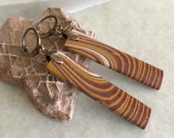 Wonder Stone Jasper earrings | natural earth jewelry