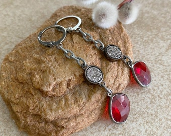 Ruby Earrings | July birthstone jewelry gifts
