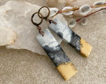 Maligano Jasper Earrings | natural earth stone jewelry