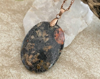 Poppy Jasper Necklace | natural earth stone jewelry